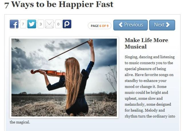 7 Ways to Be Happier Fast