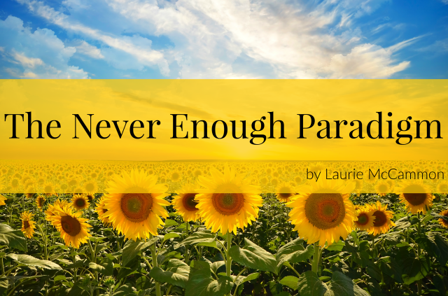 The Never Enough Paradigm